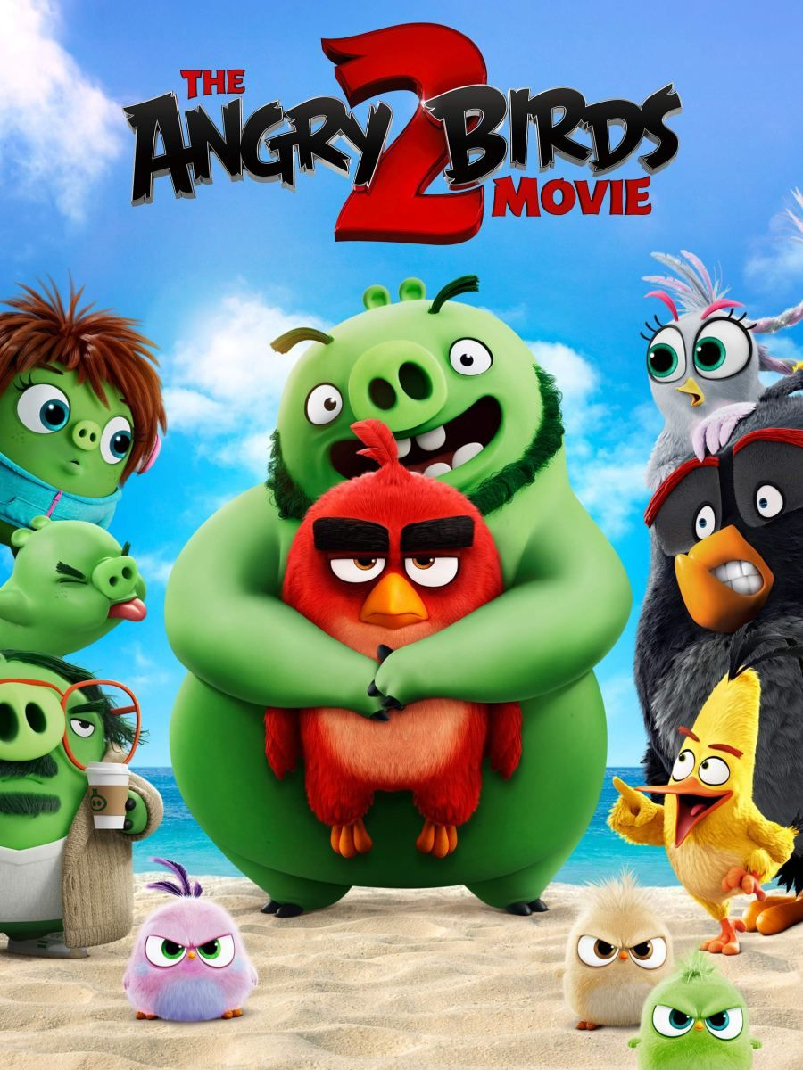 The Angry Birds Movie 2 2019 Pencils And Popcans Angry Birds Movie Angry Birds Full Movies