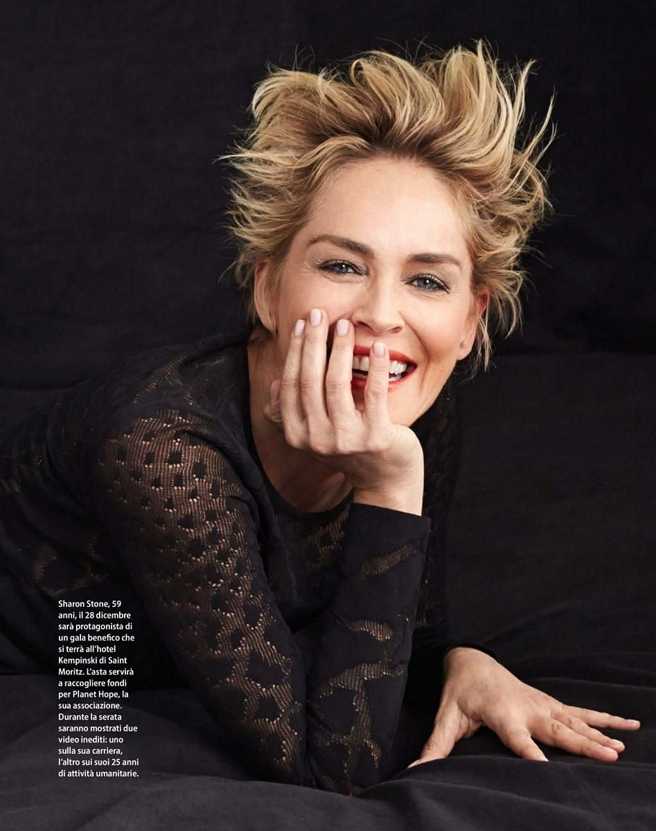 Sharon Stone about the modern woman and her place in the world