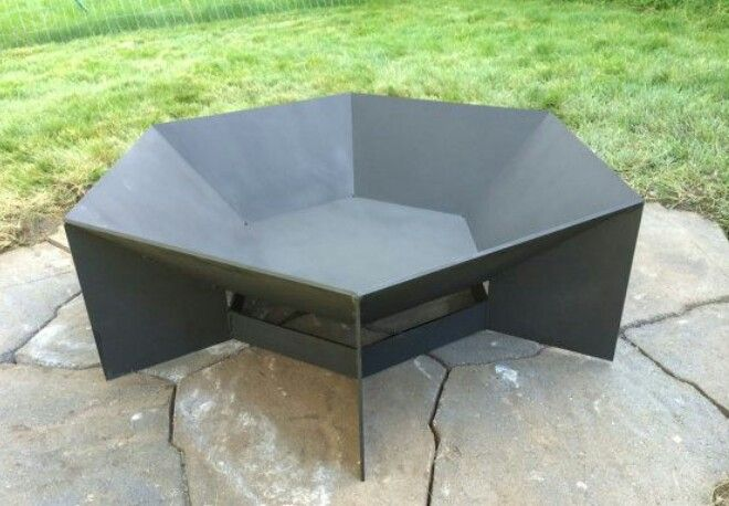 Hexagon Custom Fire Pit