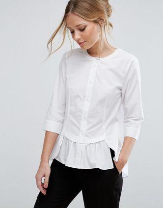 женские блузки-рубашки фото