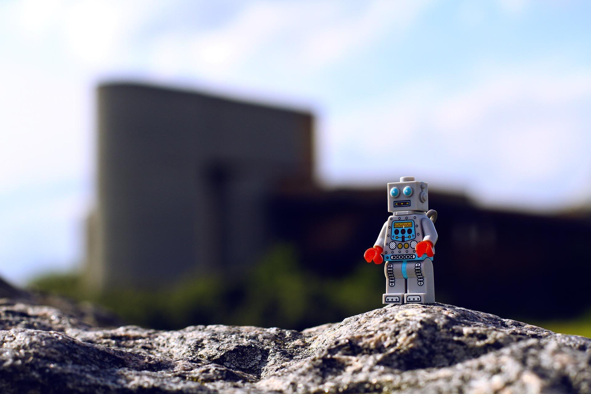 Robot Wallpaper Hd Lego Minifigures Photo Wallpapers