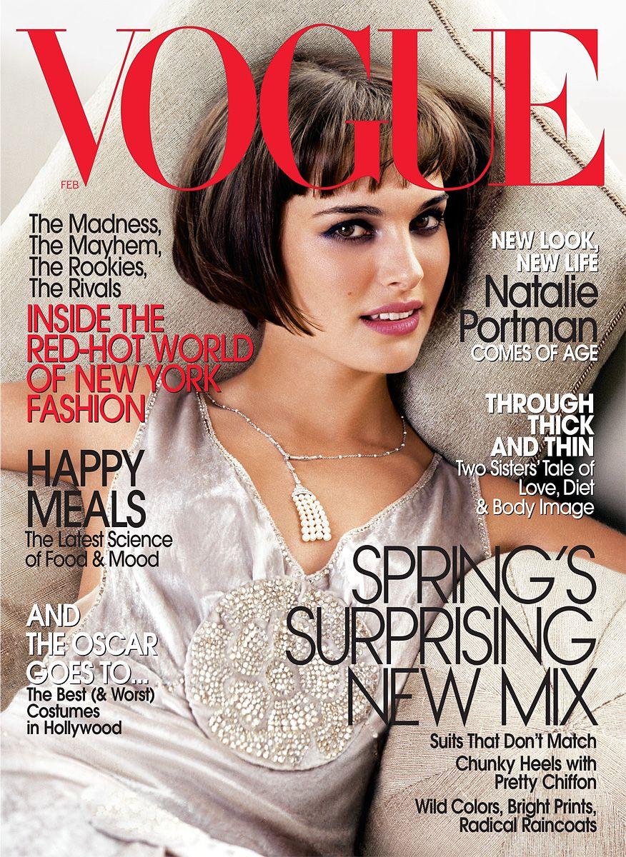 5bddeb57a74700 Natalie Portman by Mario Testino Vogue US February 2004