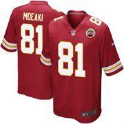 Nike Tony Moeaki Kansas City Chiefs Youth Game Jersey