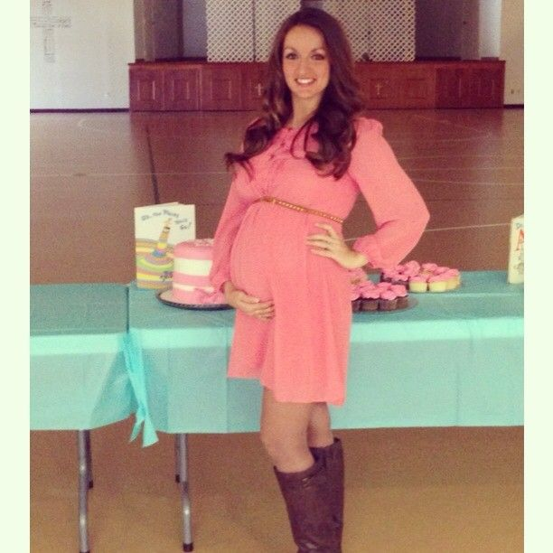 Mommy to be maternity outfit for fall time baby shower