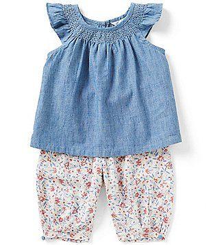 ee5f90ad4f93 Ralph Lauren Childrenswear Baby Girls 3-24 Months Chambray Top ...