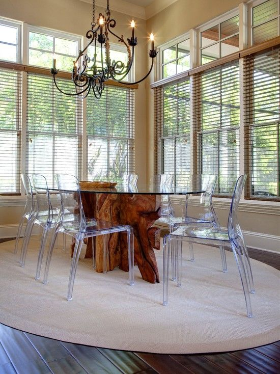 Organic Table Design Pictures Remodel Decor And Ideas Page 21 Acrylic Dining Chairs Stylish Dining Room Wooden Dining Tables