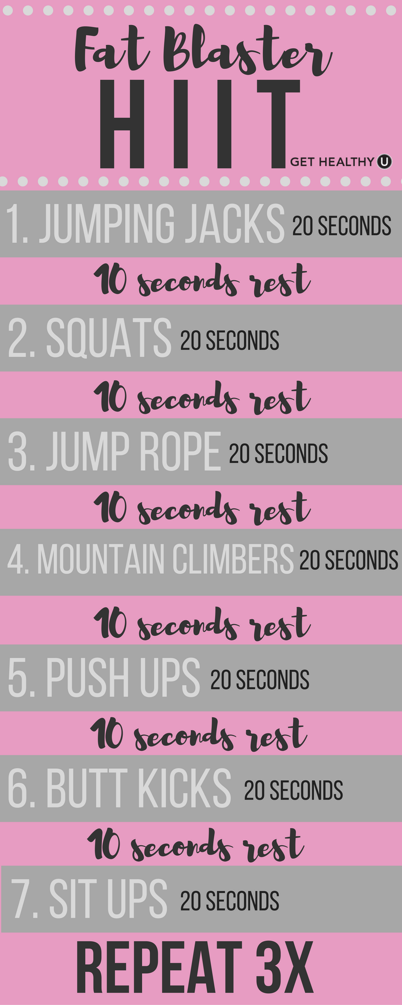 Workout Motivation: I Have Goals Damnit! This Hiit Workout Is The Perfect  Way To