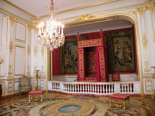 Val De Loire ~ Château De Chambord ~ Louis Xiv Ceremonial Bedroom ... Ludwig Xiv Schlafzimmer