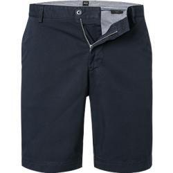 Photo of Boss Herren Hose Shorts, Slim Fit, Baumwoll-Stretch, dunkelblau schwarz Hugo Boss