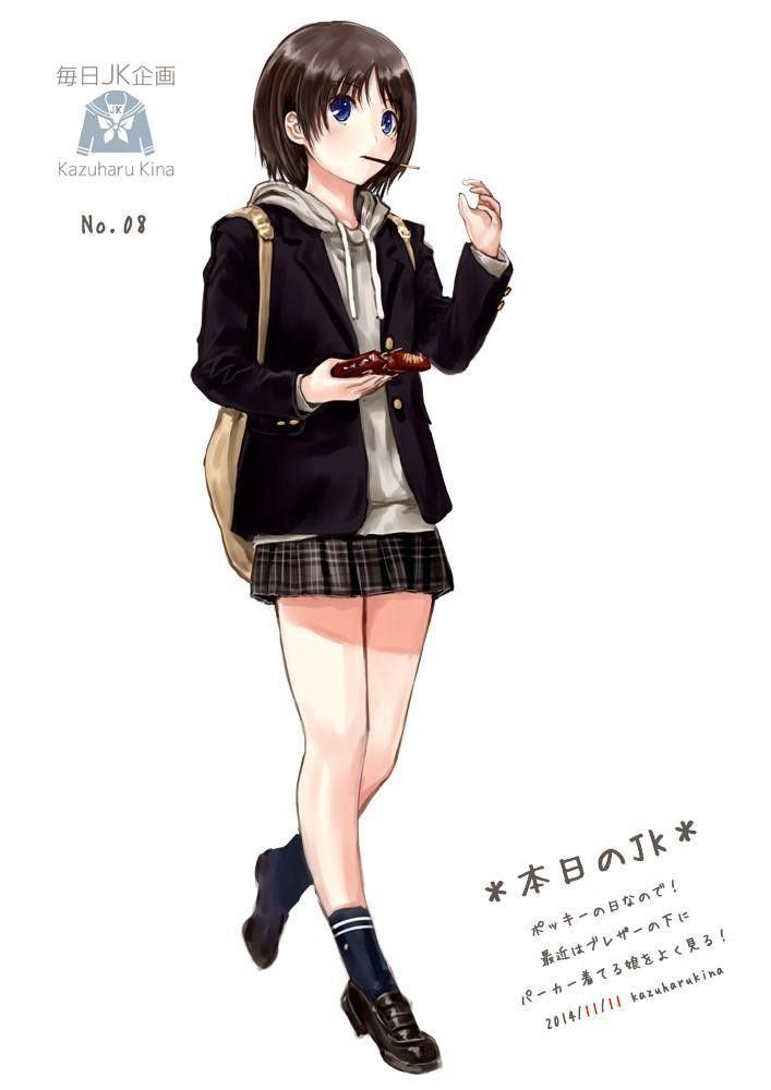 イラスト 女子 学生 服 ファンタジー | www.gazoit.com