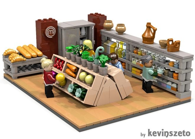 Masterchef Lego Interior Furnitures Lego Furniture Lego