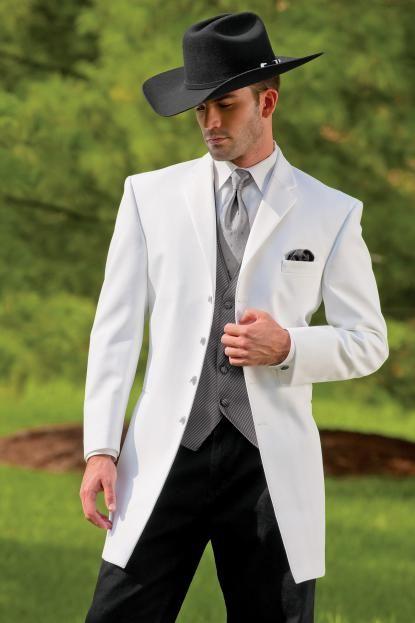 Western Tuxedo White Savannah 734 4 Jpg 415 623 Groom Wedding Attire Wedding Suits Men Cowboy Groom