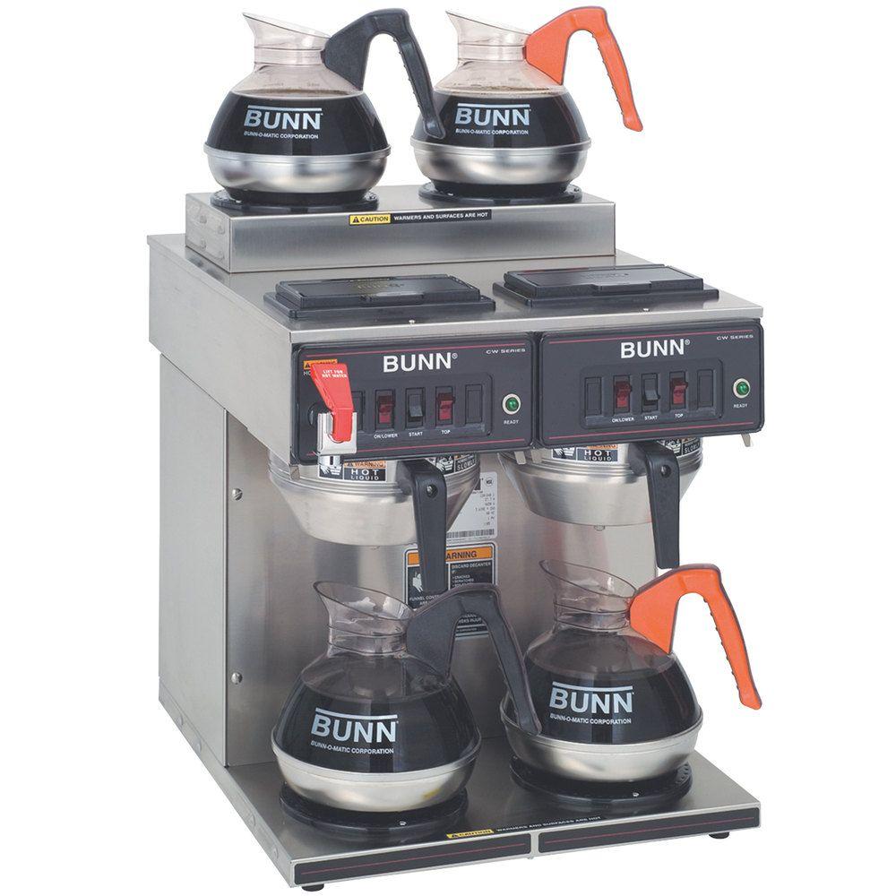 Bunn 234000001 cwtf 22 twin 12 cup automatic coffee