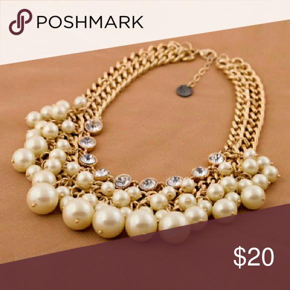 850b77abffe8 Lindo Perla Cristal Laminado collar para las mujeres para Vender - La Tienda  En Online IGOGO.ES