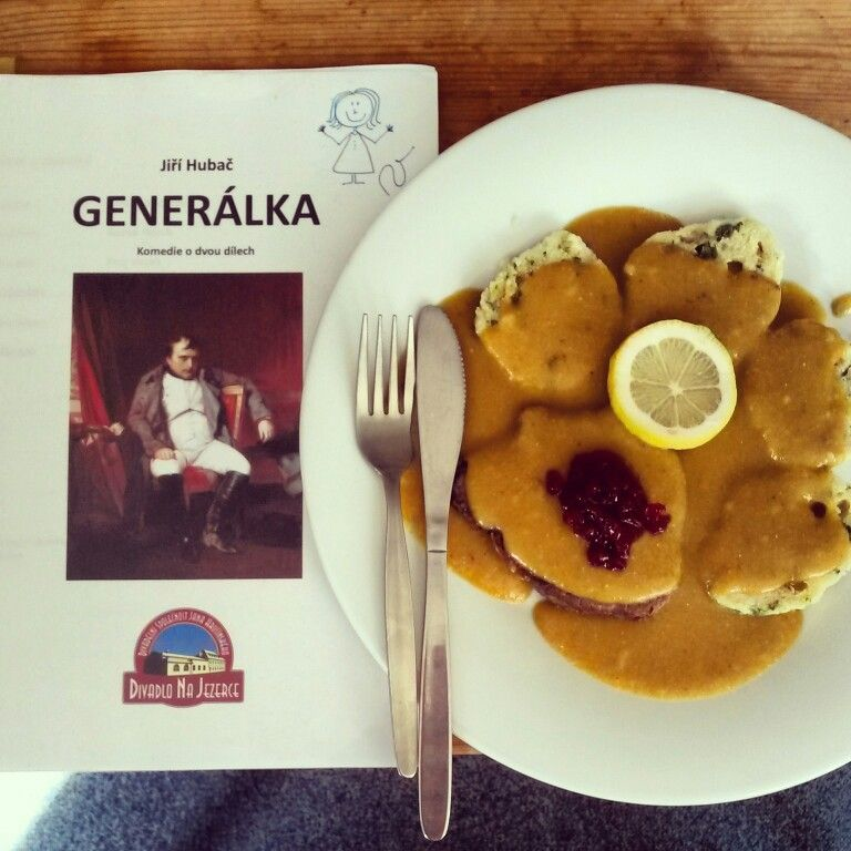 Theatre lunch time #Generalka