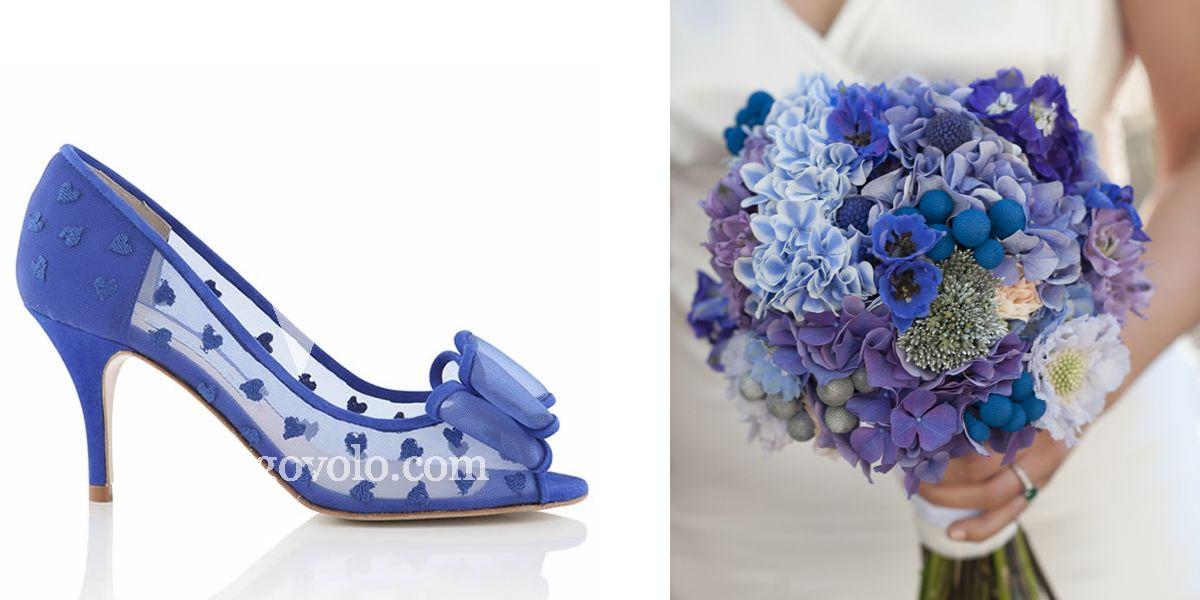 Zapatos de Novia Belle azul en www.egovolo.com