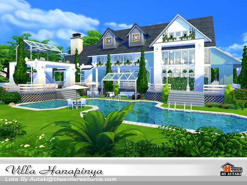 Villa Hanapinya Found in TSR Category 'Sims 4 Residential