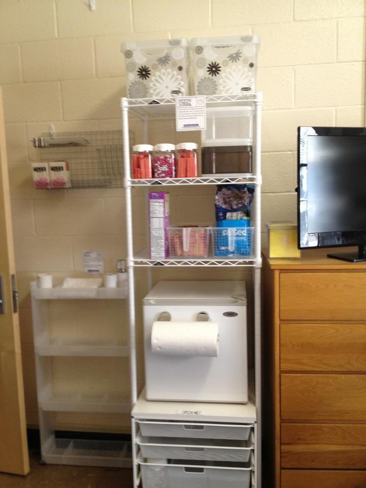 Elfa Refrigerator Cart W Intermetro Unit