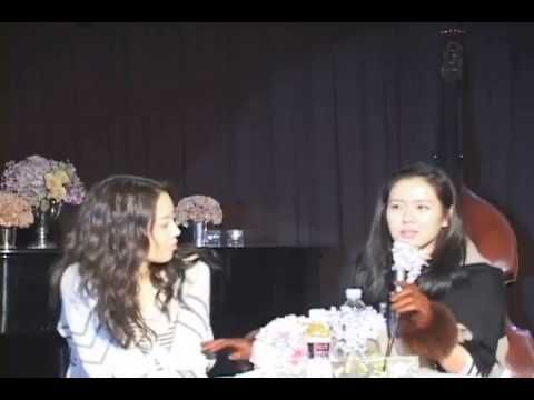 Moon Chae Won in Son Ye Jin Birthday Party 2011 #jinbirthday