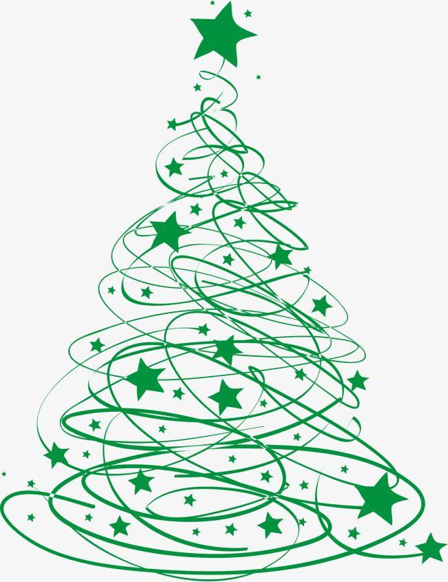 Ligne Verte D Arbre De Noel Clipart Arbre Clipart Etoile Ligne Clipart Fichier Png Et Psd Pour Le Telechargement Libre Christmas Tree Clipart Christmas Tree Drawing Christmas Tree Painting