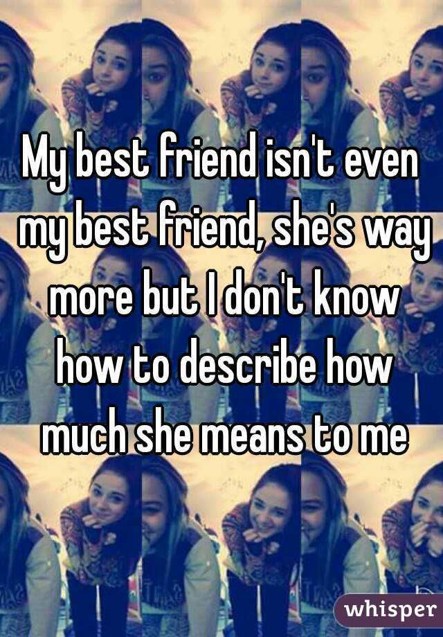 My Best Friend Is My Sister From Another Mister Best Friend