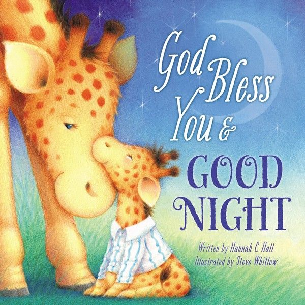 This sweet book will make sure your little one falls to sleep feeling secure and loved. In God Bless You and Good Night, sleepy little ones are reminded of God's blessings and how much they are loved. The delightful rhyming story personalized with your child's name takes little ones through several scenes of snuggly animals who are getting ready for bed. These sweet, sometimes silly rhymes and adorable art are sure to make God Bless You and Good Night a favorite part of the bedtime ritual…