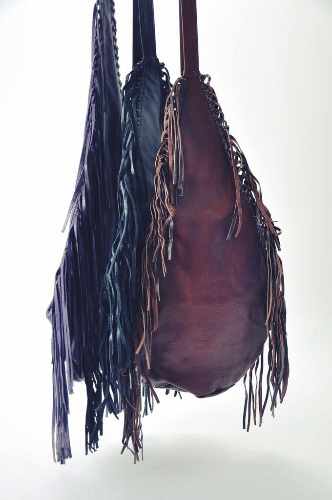 NEW ITEMS JUST IN ➸➸➸➸➸  Leather ✧ Fringe ✧ Bags  {now available online + free shipping, US}  http://bit.ly/OS8R5v #festivalstyle #coachella #fringebags #hungonu