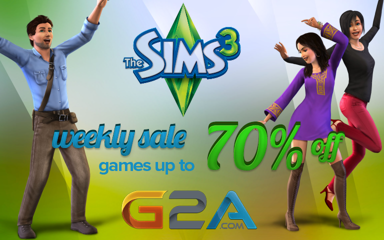 Mega Discount! Weekly SIMS 3 Sale! Https://www.g2a.com/r