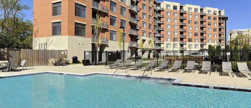 The Sparkling Pool At Carmel Alexandria Apartments | Luxury Apartment  Living In Alexandria, Virginia