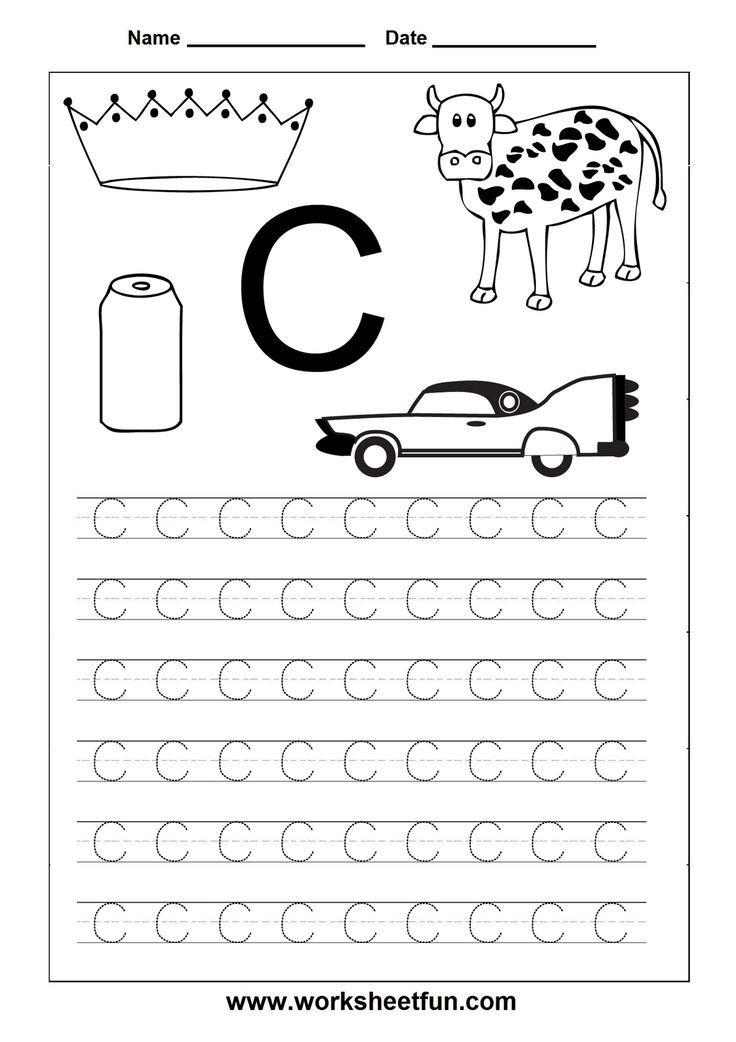 kindergarten alphabet cards   tracing cards alphabet   Printables ...
