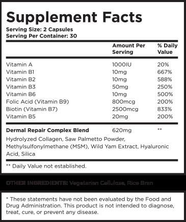 Beverly Hills Md Dermal Repair Complex Order Now Renew Skin Skin Elasticity Anti Aging Supplements