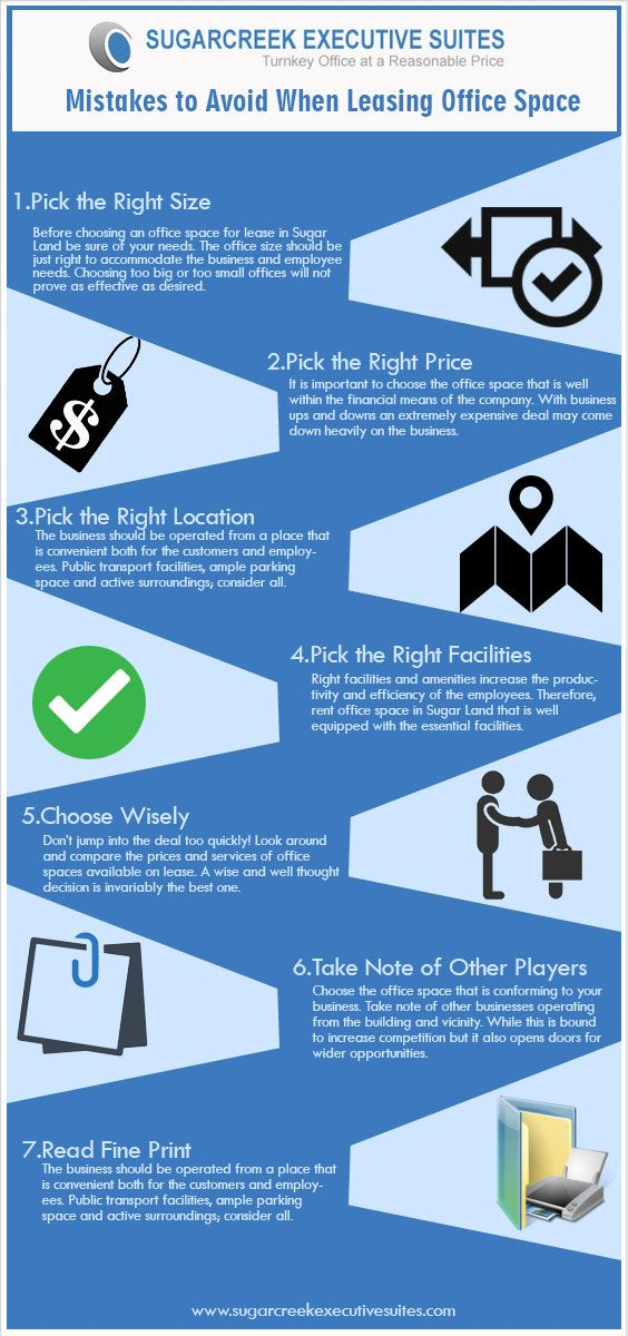 Mistakes to Avoid When Leasing Office Space For more   www - compare leasing prices