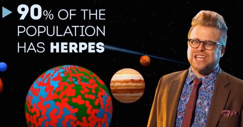 Adam ruins herpes