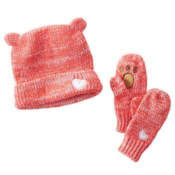 Bear Hat Set
