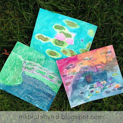 Ink Blots By Trd Review Aquarelle Monet Monet Art