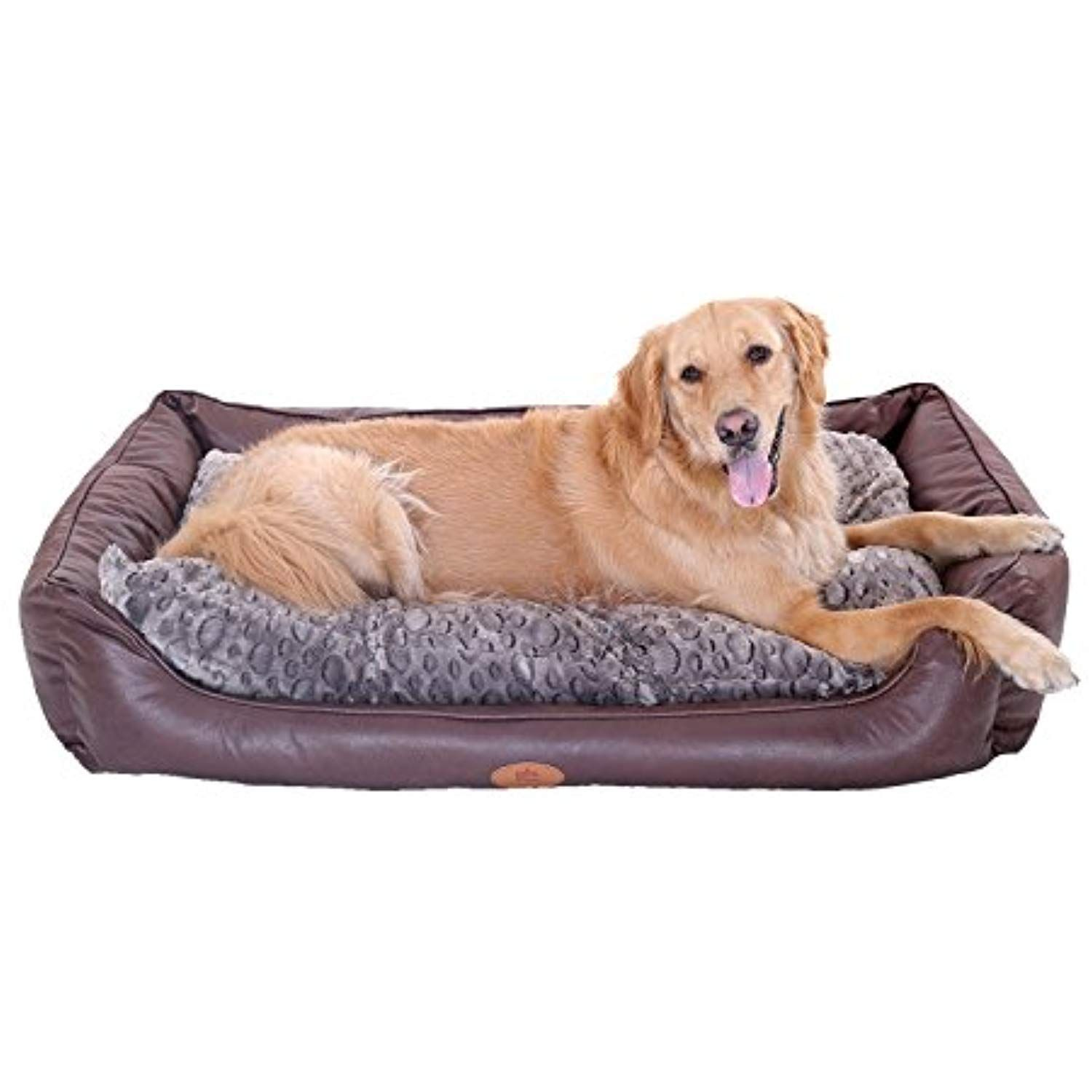 New Pls Birdsong Brownie Bolster Pet Bed Extra Large Dog Bed