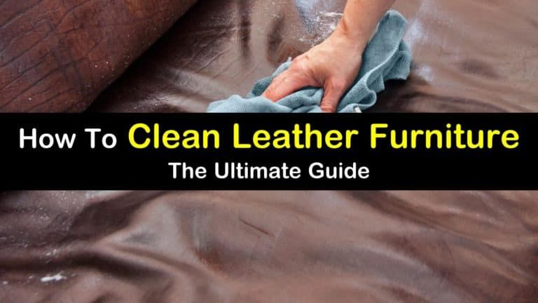 How to clean leather furniture the ultimate guide