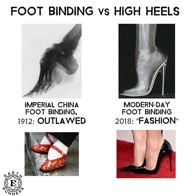 Shoes: Modern-day Foot Binding Tag Someone Who Wears Shoes