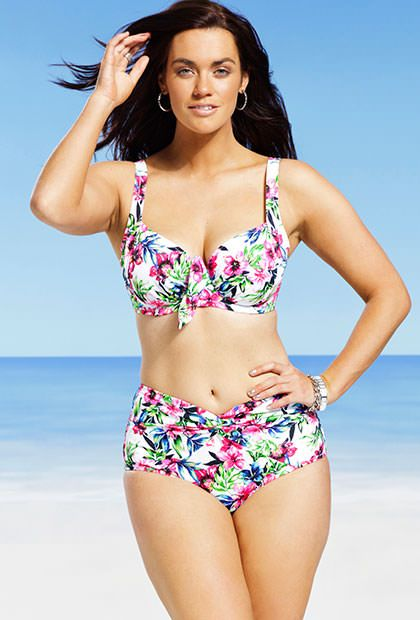 b143fa1535 Swim Sexy Sunrise Plus Size Underwire Bikini comes in our choice of sizes  10 to 24 for both the tops and bottoms. Like all