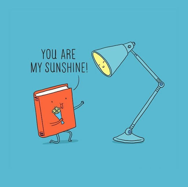 Cute Pun Illustrations Of Everyday Objects By Heng Swee Lim In Lim Heng Swee's (a. ilovedoodle) illustrations, everyday objects become cheerful little characters that make playful puns and observations about everyday life and staying positive.