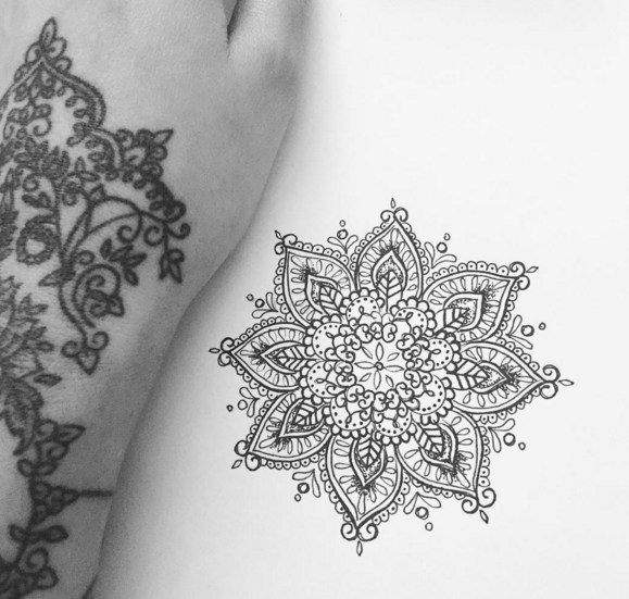 5a381037787df Olivia-Fayne Tattoo Design - EYE CANDY | Tattoos | Mandala tattoo ...