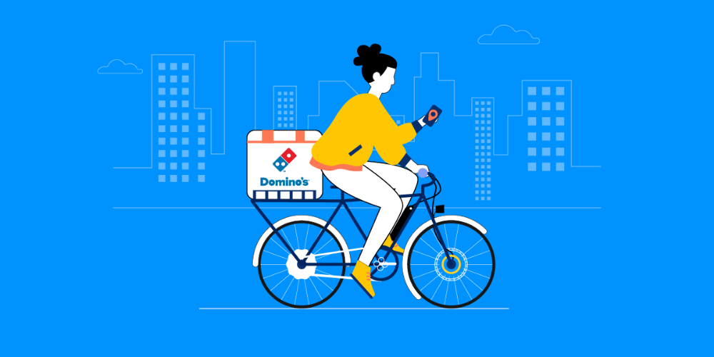 Domino's Introduces eBike Delivery to Compete With