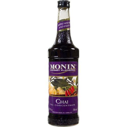 Monin - Chai Tea Syrup Concentrate - 25.4oz (Glass)