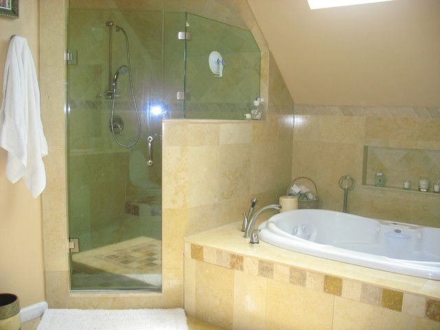 Attractive Small Bathroom Ideas With Jacuzzi Tub Part 13