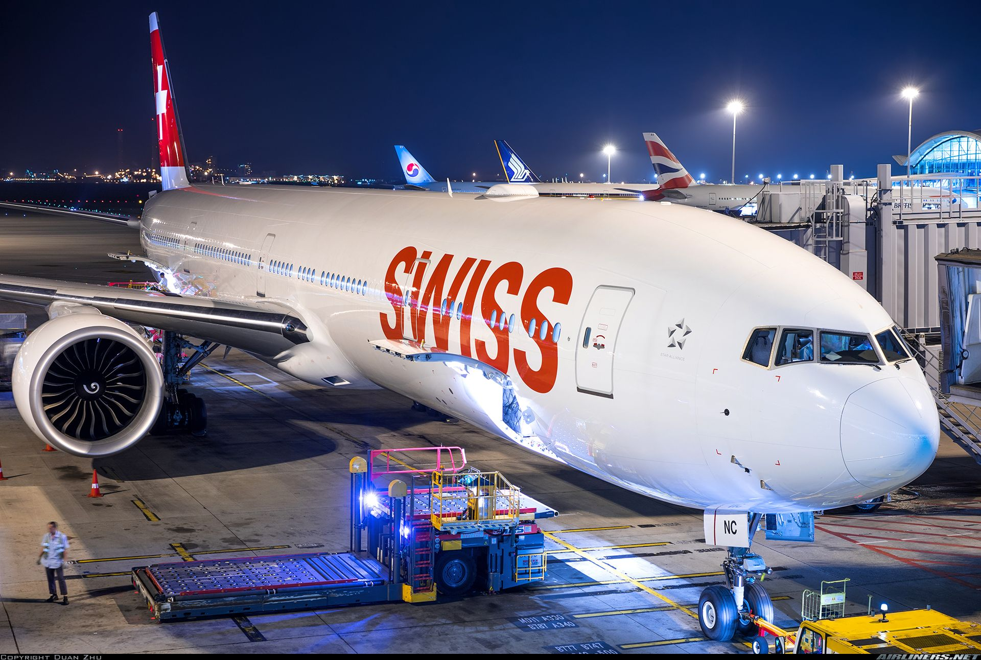 Boeing 7773DE/ER Swiss International Air Lines