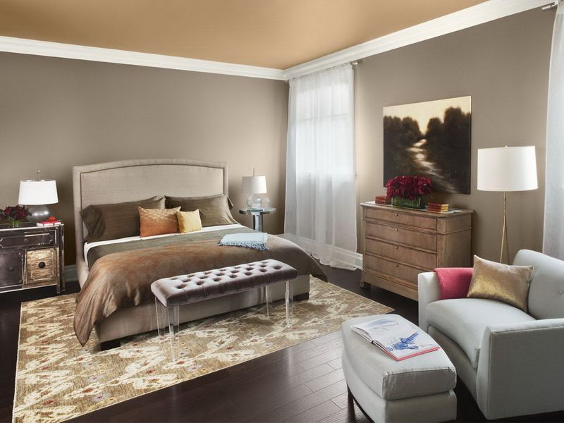 Glamorous Tone For Natural Grey Bedroom Style Walls Color