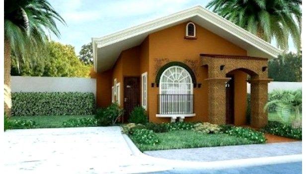 Fachadas de casas sencillas de una planta planos de Fachadas de casas bonitas de una planta