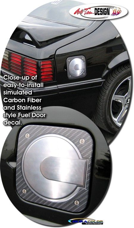 Vehicle Specific Decal Kits For Ford Mustang That Are Precut And
