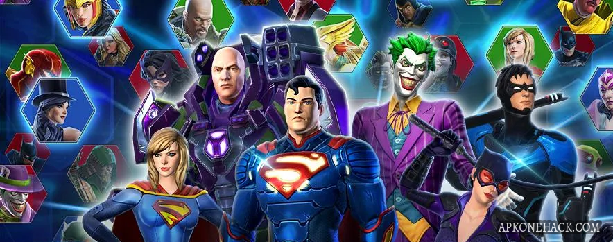 DC Legends is an Role Playing Game for android Download