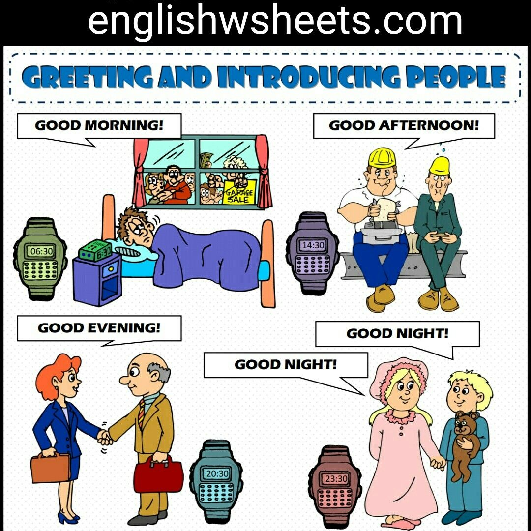 Greeting And Introducing People Esl Printable Classroom
